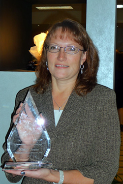 Elaine Jones The 2012 Robert A. Bonsack Award Recipient